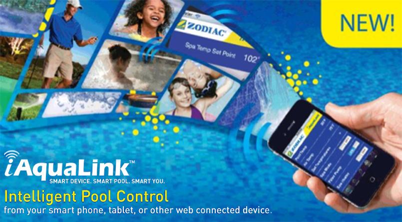 Mobile Pool Controller Hayward Pools